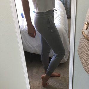 gray adidas joggers/sweatpants!!
